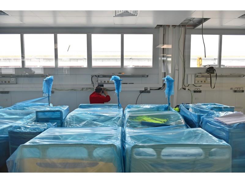 Новый инфекционный центр на 656 мест оснастили кондиционерами Haier