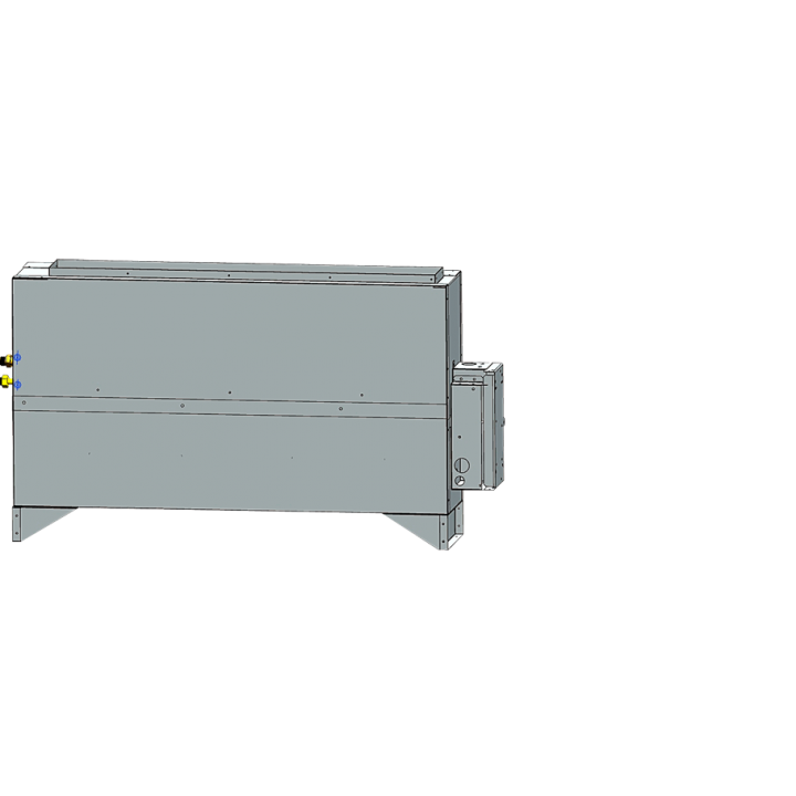 Скрытый напольный блок Haier AE182MLERA